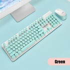 Wireless Keyboard Optical 1800DPI Mice Combo Set 2.4GHz USB Receiver for Laptop-