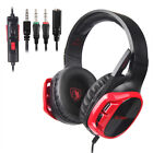 SADES R17 Wired Gaming Headset 3.5mm Over-Ear Headphone Microphone ForPS4/Xbox