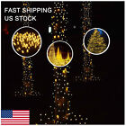 400/500 LED Solar Power Warm White Fairy String Lights Outdoor Patio Party Decor