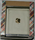 NWT A Novel Idea Made in USA Lapel Pin Gold Silver