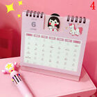 2019 Desktop flip calendar stand up table planner memo office home desk BIHN