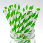 Paper Straws For Drinks Decorations Classic Stripe 25 100 200 PCS and More Qtys