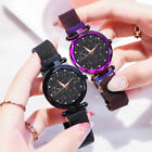 Luxury Ladies Women Starry Sky Watch Quartz Stainless Bracelet Watches Best Gift image