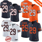 Tarik Cohen #29 Chicago Bears Men's Football Jersey Authentic 4 Color S-3XL on eBay