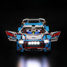 LED light up kit for Lego Technik 42077 and 20077 The Rally Car brick