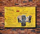 T1488 20x30 24x36 Silk Poster Jean Basquiat Untitled Art Michel Print