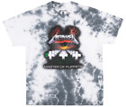 METALLICA MASTER OF PUPPETS T-SHIRT TIE DYE METAL MUSIC BRAVADO MEN'S SMALL NWT image