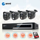 Used, anni 4CH/8CH/16CH 1080N DVR with 1TB HDD 2.0MP Smart CCTV Security Camera System for sale  Shipping to Nigeria