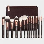 Kyпить 15 Make-up Pinsel Make-up Pinsel Set Schönheit Werkzeuge Powder Brown Black Rose на еВаy.соm