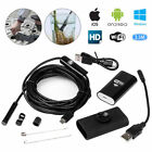 HD Waterproof WiFi Endoscope Inspection 6 LED Camera fit iPhone Android iPad UK