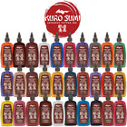 Kuro Sumi Tattoo Ink 1/2 1oz Red Blue Black White Green Purple Brown Pink Color