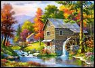 Old Sutter's Mill - DIY Chart Counted Cross Stitch Patterns DMC Color