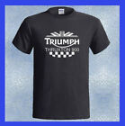 Triumph Thruxton 900 Logo British Motorcycle NEW Men's T-Shirt S M L XL 2XL 3XL $22.49 USD on eBay