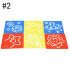 6Pcs Stencil Ruler for PaintingTraffic Drawing Template for Kid Christmas Gift