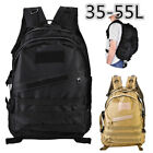 55l Outdoor Travel Hiking Camping Backpack Pockets Large With Laptop Compartment