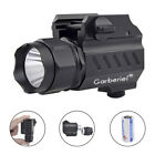 Tactical 5000LM 2Mode Pistol Gun Flashlight Torch Mount Light for Picatinny Rail