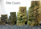 FILTER OR HEATER COVER MATCHES BACKGROUND FOR AQUARIUM FISH TANK JUNGLE BOB