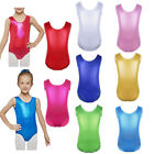 Внешний вид - Girls Kids Sparkle Shiny Gymnastics Leotard Dress Ballet Dance Dancewear Costume