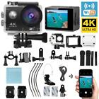 Ultra 4K Full 1080P Waterproof Sport Camera WiFi Action Camcorder