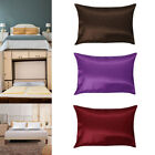 1 x Pure Mulberry Silk Pillow Case Cover Housewife Queen Standard image
