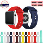 Silicone Band Sport Soft Strap for Apple Watch iWatch Series 2 3 4 38/40/42/44mm image