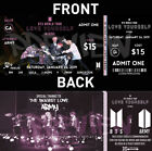 BTS Love Yourself in Seoul Fan-Made Movie Tickets