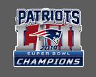 New England Patriots 2019 Super Bowl LIII 53 Champions Decal