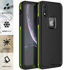 For Apple iPhone XR Xs Max Case Life Waterproof Shockproof Dirtproof Snowproof