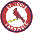 St. Louis Cardinals Circle Logo Vinyl Decal  Sticker 5 sizes!! on Ebay