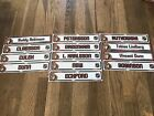 Ottawa Senators Locker Room Nameplates Game Used NHL $9.99 USD on eBay