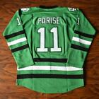 Zach Parise 11 SIOUX Ice Hockey Jersey Stitched Green in Hockey Jersey
