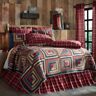 BRAXTON QUILT SET & ACCESSORIES. CHOOSE SIZE & ACCESSORIES. VHC BRANDS image