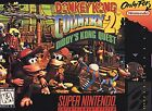 .SNES.'   '.Donkey Kong Country 2 Diddy's Kong Quest.