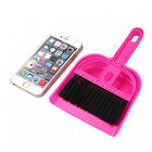1Set Keyboard Notebook Small Dustpan Brooms Whisk Dust Pan Cleaning Brush Set