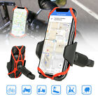 Bike Motorcycle Phone Handlebar Holder Mount Bracket w/ Butterfly Silicone Belt