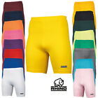 Rhino Mens Base Layer Short Quick Dry Fitted Active Sports Training Fitness Wear