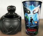 How To Train Your Dragon 3 The Hidden World Toothless Buckets, Cups & Pez Candy