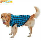 PAWZ® Dog Pet Hoodie Classic Grid Leisure Clothing Warm Removable Hat Puppy