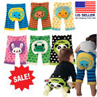 Внешний вид - Japanese Baby Boy/Girl Toddler Pants Kawaii Animal Infant Striped Leggings 6M-3T