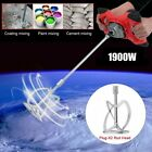 1800W/1900W Mortar Mixer Cement Render Paint Concrete Glue Plaster Rotary Drill