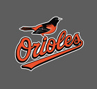 Baltimore Orioles Logo 2009 - 2018 Sticker Vinyl Vehicle Laptop Decal on Ebay