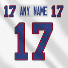 Buffalo Bills White NFL Football Jersey Any Name Any Number Pro Lettering Kit $49.99 CAD on eBay