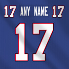 Buffalo Bills Dark NFL Football Jersey Any Name Any Number Pro Lettering Kit $49.99 CAD on eBay