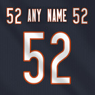 Chicago Bears Dark NFL Football Jersey Any Name Any Number Pro Lettering Kit $39.99 CAD on eBay