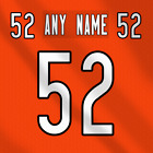 Chicago Bears Alternate NFL Football Jersey Any Name Any Number Lettering Kit $39.99 CAD on eBay