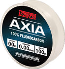 Tronix Pro NEW Axia 100% Fluorocarbon Fishing Line - All Breaking Strains