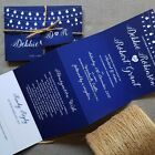 Personalised Wedding Invitations Evening Invites - Bright Lights - Handmade