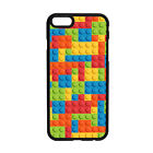 LEGO Building Bricks Pattern Phone Case Cover iPhone Samsung Blocks Toys Gift
