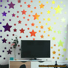 Stars Wall Art Vinyl Stickers Decals Kids Star Space Moon Child - 32 Colours!