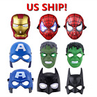 US! Kids Cool Boy Light Up Avengers Superhero Mask Halloween Party Cosplay Prop $8.09 USD on eBay